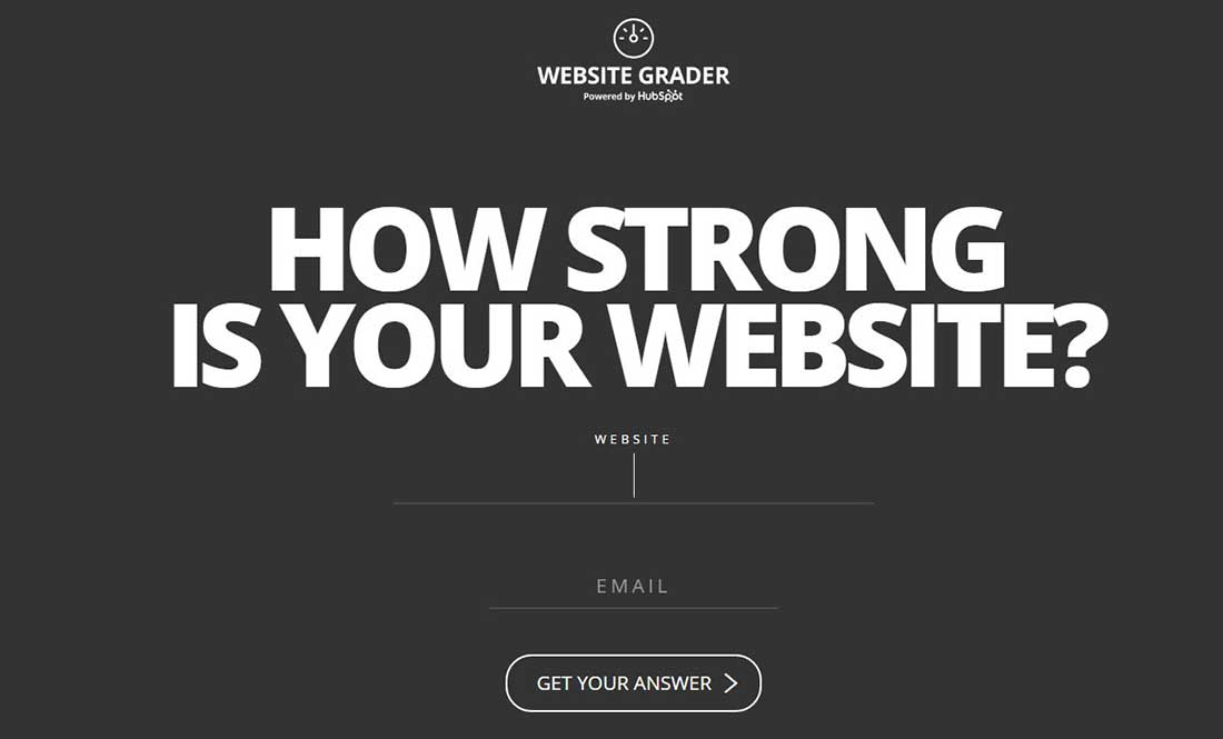 000646 Website Grader Google Chrome